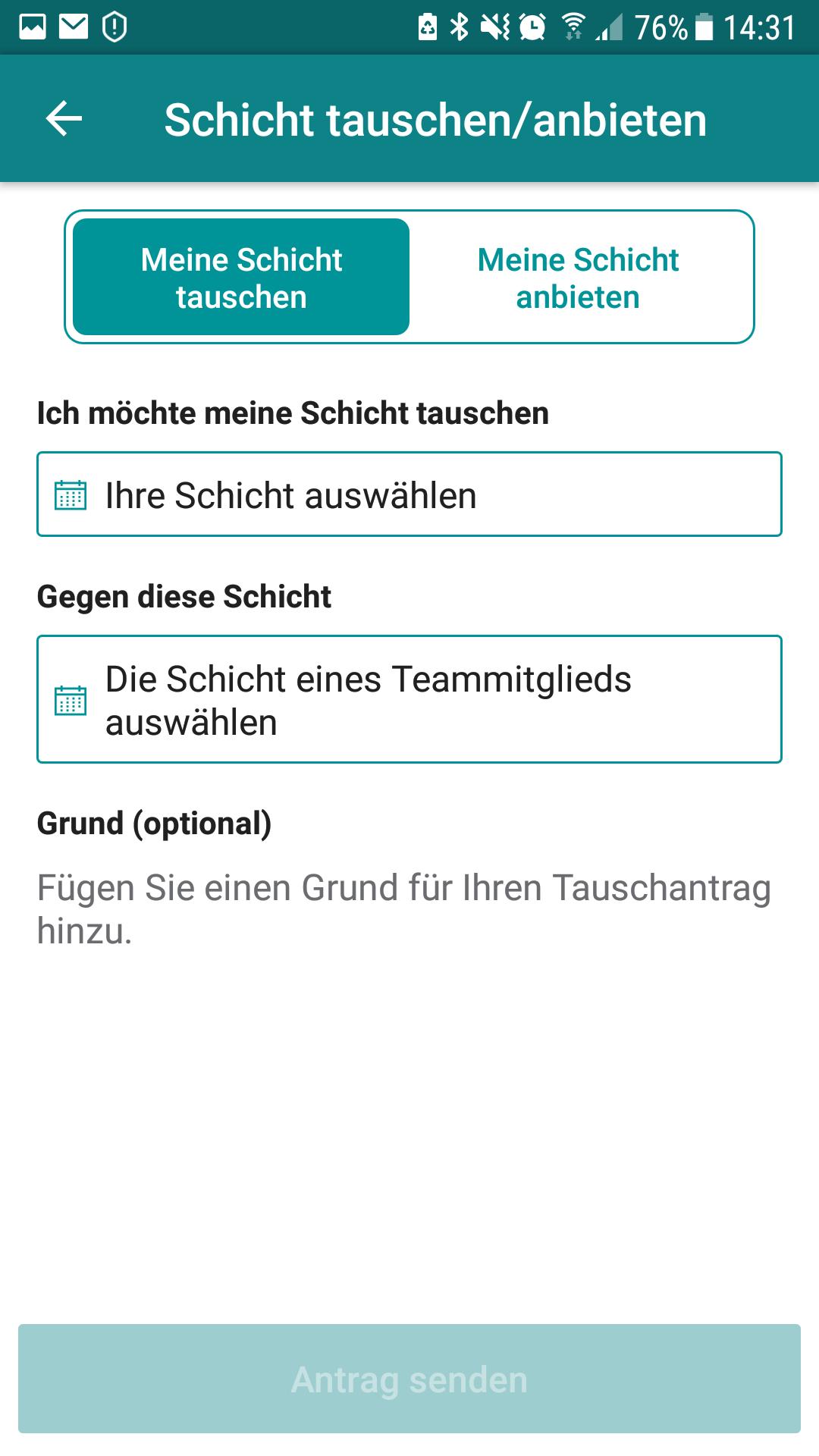 Microsoft StaffHub App - Schicht tauschen