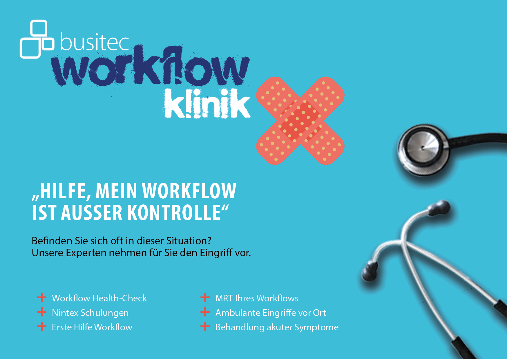 busitec workflow klinik