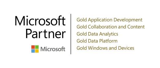 MS Kompetenz Logo Gold