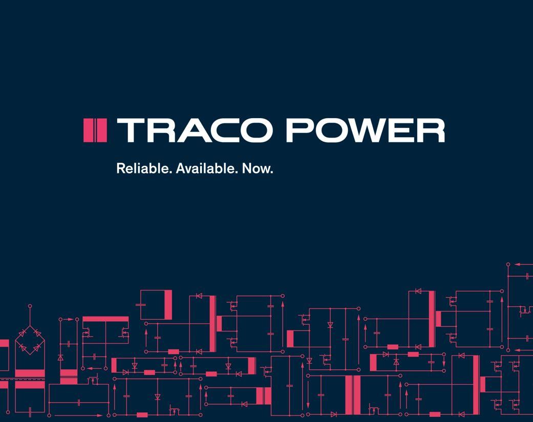 Traco Power Logo mit Claim