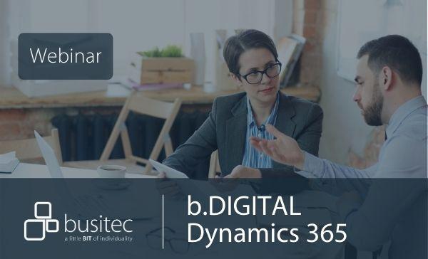 Webinar Dynamics 365