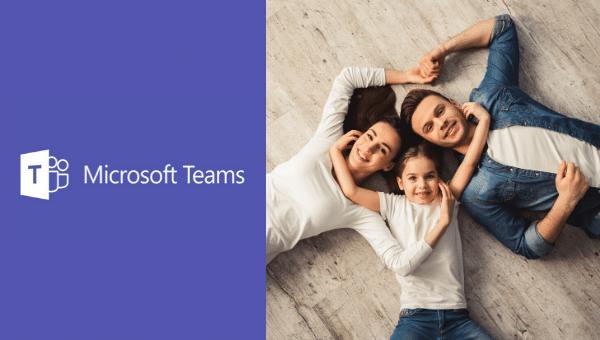 Update von Microsoft Teams für private Nutzung