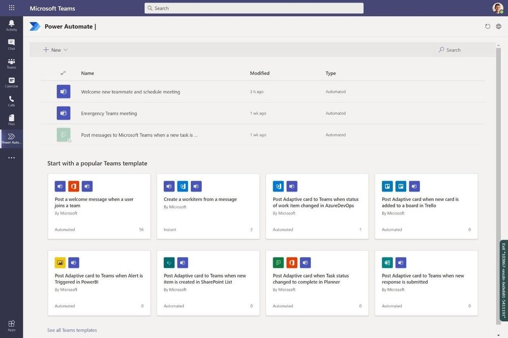 Integration von Power Automate in Microsoft Teams