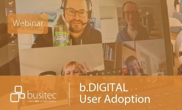 Webinar zu User Adoption