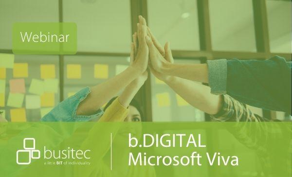 Webinar zu Microsoft Viva