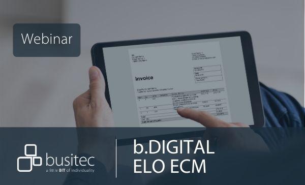 Webinar ELO ECM mit DATEV