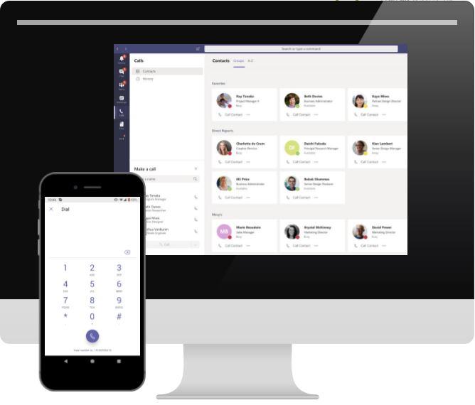 Microsoft Teams als Telefonanlage mit Session Border Controller (SBC) als Managed Services
